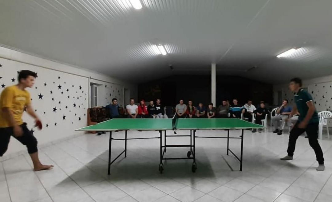 В Азовском медресе состоялся турнир по настольному теннису (ФОТО)