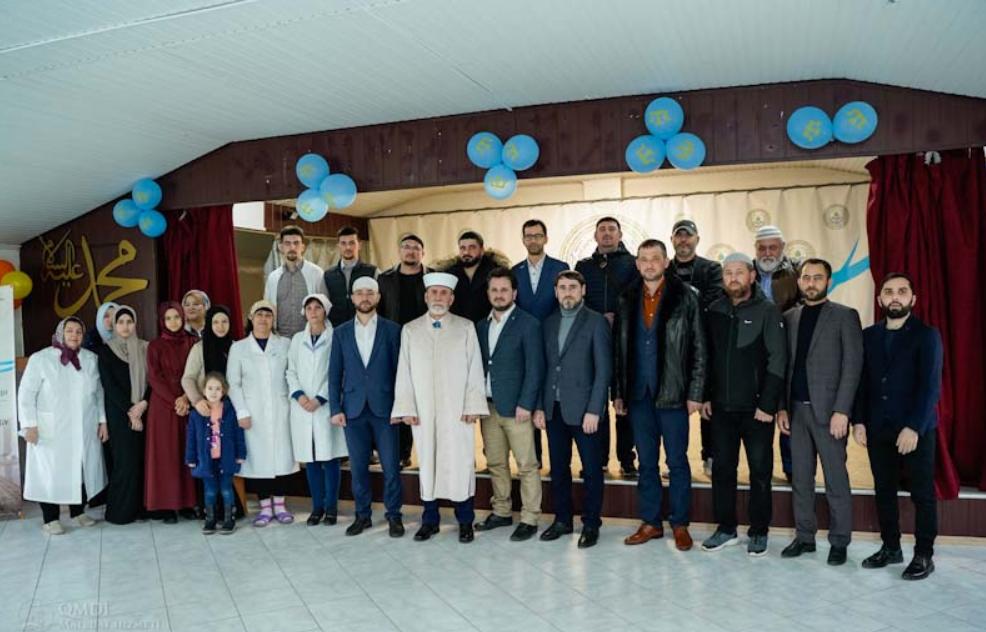 В Азовском медресе поблагодарили участников проекта газификации (ФОТО)